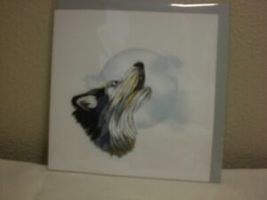 Quilling Cards LLC - 3D Wolf Note Card