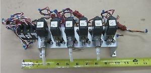 SMC 24VDC Solenoid Pneumatic Valve Bank Vacuum Switch NVK322v NZSE2-T1 Swagelok