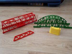 TOMY TRACKMASTER SUSPENSION BRIDGE PARTS SPARES