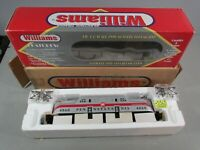 WILLIAMS PENNSYLVANIA SILVER WITH RED STRIPE GG-1 LOCOMOTIVE  W/HORN NEW O.B.