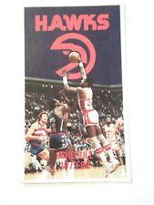 1979-80 Atlanta Hawks NBA Basketball Schedule