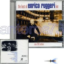 "ENRICO RUGGERI ""THE BEST OF LIVE 2003 ED"" RARO CD - SIGILLATO"
