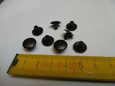 cache vis obturateur (lot de 20) Ø4 mm bouchon plastique NOIR ( N4)