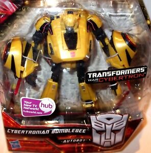 ✰Sealed rare Transformer Hunt for the CYBERTRONIAN BUMBLEBEE Deluxe Figure MOC