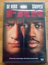 DVD The Fan, Robert De Niro, Wesley Snipes, New&Sealed.