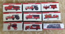 9 - 1999 Reader's Digest Association Vintage Fire Truck & Train Toys -NEW-