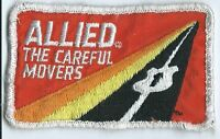 Allied the careful movers truck drivers patch 2-1/4 X 3-3/4  inch