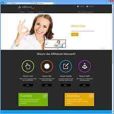 Affilishock® - Affiliate Netzwerk Software / PHP Script (Partnerprogramm)