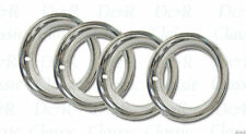 Rally Wheel Beauty Trim Ring 4pc Set 15 x 8 Camaro Chevelle Corvette 68-82 rings