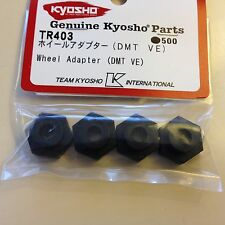 KYOSHO DBX2, DMT, VE, 4 X 17MM WHEEL ADAPTORS, NEW IN PACKET, TR403