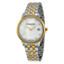 Raymond Weil Toccata Mother of Pearl Dial Two-tone Mens Watch 5388-STP-97081