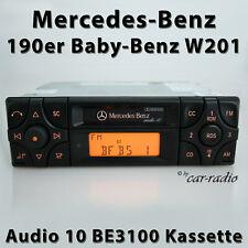 Original Mercedes Audio 10 BE3100 Box 190er Car Radio C-Class W201 Becker