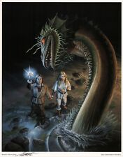 Larry Elmore SIGNED AD&D TSR RPG Fantasy Art Portfolio Print ~ Dragon Kingdoms