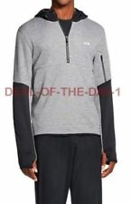 NWT $34.99 Champion C9 Tech Fleece Hoodie 1/2 Zip Mens 2XL Duo Dry Heather Gray