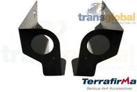 Extreme Rear Body Bumper Tub Corners for Land Rover Defender 90 Terrafirma TF574