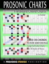 Fretboard Chord Charts for Guitar by Tony Pappas (2013, Paperback)