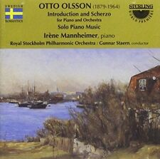 Olsson: Introduction and Scherzo for Piano and Orchestra, New Music