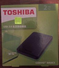 Toshiba Canvio Basics 2tb Portable External Hard Drive Xbox & Ps4 Storage