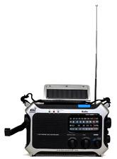 Portable Solar / Hand Crank AM/FM, Shortwave & NOAA Weather Emergency Radio, New