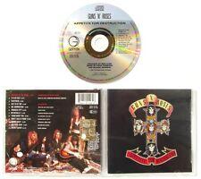 GUNS N' ROSES - APPETITE FOR DESTRUCTION - 1987 - CD usato in ottime condizioni