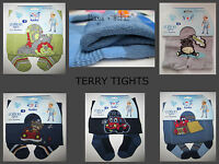 BABY BOYS COTTON TERRY THICK WINTER TIGHTS LEG WARMERS SOCKS 3 6 12m 2 3 4yrs