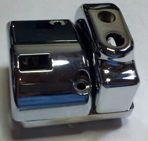 Viper Motorcycle Company 3-part Air Ride Switch Housing 2051300 Chrome