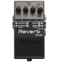 Boss RV-6 Reverb Guitar Effect Pedal Open Box Mint