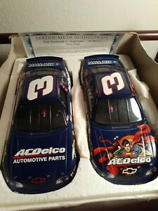 Dale Earnhardt Jr✌ Brookfield Collectors Guild Twin Pack AcDelco & Superman 1/24