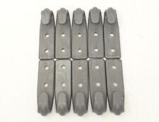 10x Rundknopf Planenknopf Anh/ängerplanen in grau