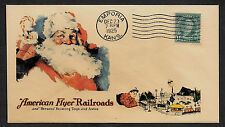 1925 American Flyer Trains Xmas Featured on Collector's Envelope *A312