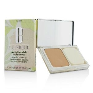 Clinique ANTI-BLEMISH SOLUTIONS Powder MAKEUP Compact ~ #5 FAIR - NEW IN BOX