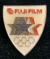 Rare Vintage 1980 LAOC 1984 Los Angeles Olympics Fuji Film Lapel Pin! WPIN210