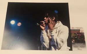 Rapper Polo G Autographed Signed 11x14 photo JSA PP19417 Chicago Hall Of Fame