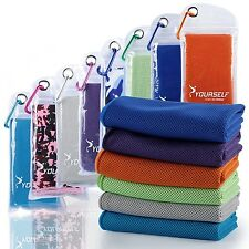 Syourself Cooling Towel for Instant Relief - Cool Bowling Fitness Yoga Towels...