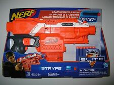 New In Box Nerf N Strike Elite Orange Stryfe Blaster Toy Dart Gun NEXT DAY SHIP
