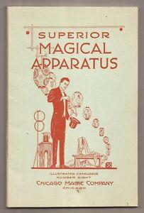 SUPERIOR MAGICAL APPARATUS Chicago Magic Company Catalogue No. 8 - 1919