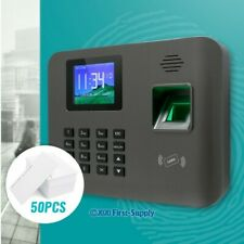New Fingerprint And RFID Card Attendance Time Clock+ TCP/IP+ USB+ Remote Access