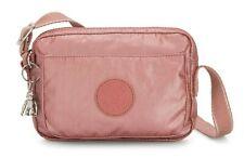 Kipling ABANU Mini Crossbody Bag with Adjustable Shoulder Strap - Metallic Rust
