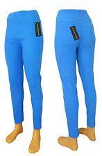 Jeans Leggings für Damen aus Baumwolle mit Gummizug Sommerfarben Gr. 38-40 40-42