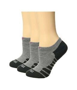 Nike Women's 247844 Dry Cushion No Show Training Socks 3-Pair Pack Size S
