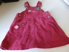 Girls Red Cord Pinafore/Dungaree dress by Next ~ Age 1-2 years