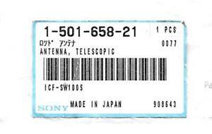 NOS SONY ICF-SW100 SHORTWAVE RADIO ANTENNA 1-501-658-21