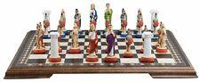 Studio Anne Carlton Chess Roman Handpainted