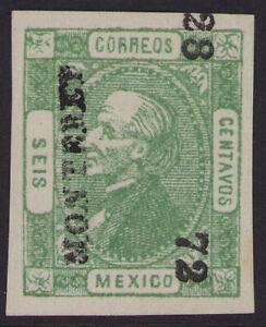cw09 Mexico #93 6ctv Monterrey 28-72 Mint No Gum VF Beauty est $20+ VF-ExF