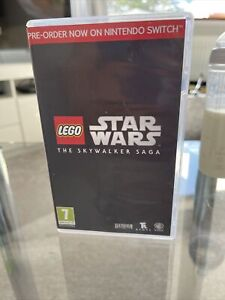 Lego Star Wars The Skywalker Saga Nintendo Switch Case Only price For 1)