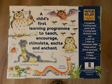 wide eye early learning Programme set with owl puppets.