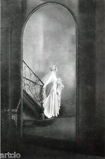 """Héliogravure - 1925 -      """" The Bride  -  Richardson  """""""