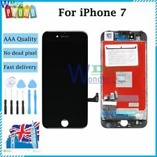 For iPhone 7 LCD Touch Display Screen Digitizer Assembly Replacement Black UK