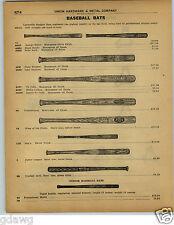 1922 PAPER AD Louisville Slugger Baseball Bat Bats Decal Type Ty Cobb Babe Ruth