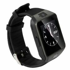 DZ09 BLUETOOTH MONTRE connectée SMARTWATCH GSM SIM iPhone Android black